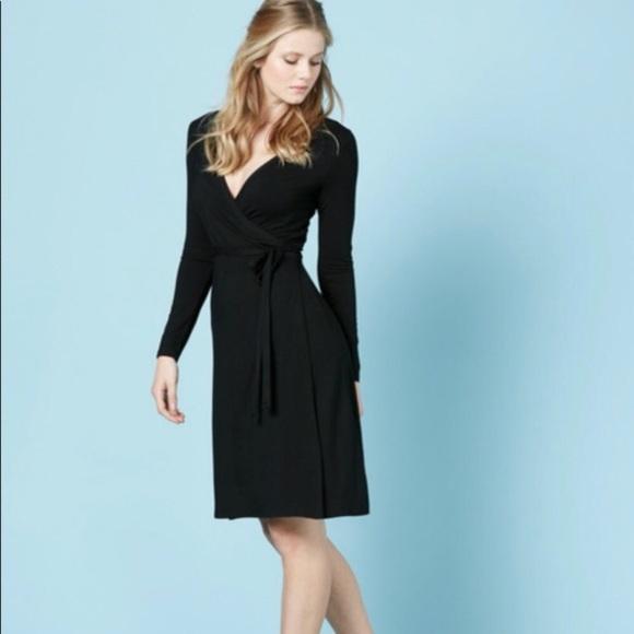 f93f49d8793 Boden Dresses   Skirts - Boden 8 long sleeve black wrap dress